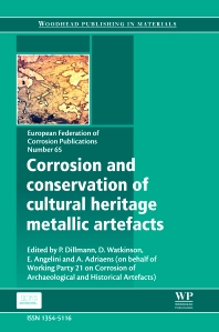 Corrosion and Conservation of Cultural Heritage Metallic Artefacts - 1st Edition - ISBN: 9781782421542, 9781782421573