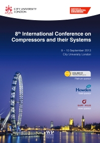 Cover image for 8th International Conference on Compressors and their Systems