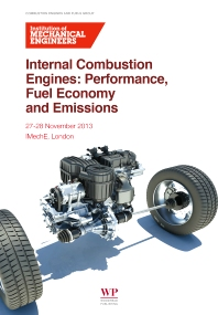 Internal Combustion Engines, 1st Edition,ISBN9781782421832