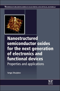 Cover image for Nanostructured Semiconductor Oxides for the Next Generation of Electronics and Functional Devices