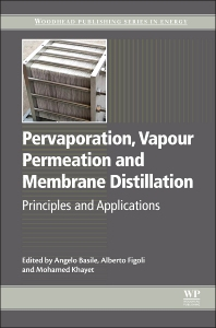Cover image for Pervaporation, Vapour Permeation and Membrane Distillation