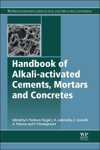 Cover image for Handbook of Alkali-Activated Cements, Mortars and Concretes