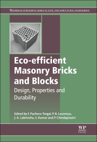Eco-efficient Masonry Bricks and Blocks - 1st Edition - ISBN: 9781782423058, 9781782423188