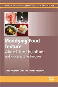 Modifying Food Texture - 1st Edition - ISBN: 9781782423331, 9781782423515