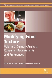 Modifying Food Texture - 1st Edition - ISBN: 9781782423348, 9781782423522