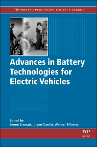 Cover image for Advances in Battery Technologies for Electric Vehicles