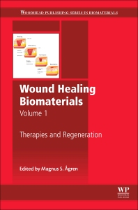 Cover image for Wound Healing Biomaterials - Volume 1