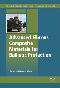 Cover image for Advanced Fibrous Composite Materials for Ballistic Protection