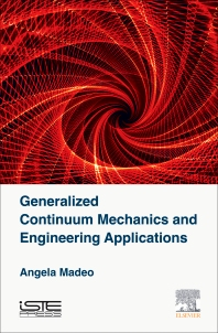 Cover image for Generalized Continuum Mechanics and Engineering Applications
