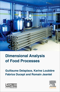 Cover image for Dimensional Analysis of Food Processes