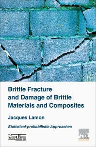 Cover image for Brittle Fracture and Damage of Brittle Materials and Composites
