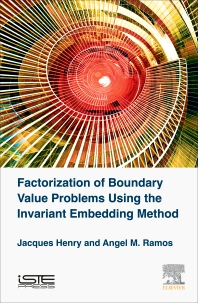 Cover image for Factorization of Boundary Value Problems Using the Invariant Embedding Method