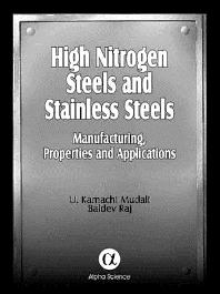 Cover image for High Nitrogen Steels and Stainless Steels