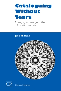 Cover image for Cataloguing Without Tears
