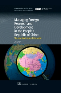 Cover image for Managing Foreign Research and Development in the People's Republic of China