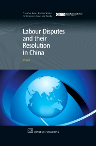 Cover image for Labour Disputes and their Resolution in China