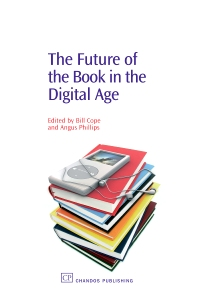 Cover image for The Future of the Book in the Digital Age