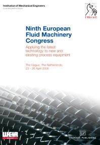 Ninth European Fluid Machinery Congress - 1st Edition - ISBN: 9781843342427