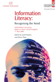 Information Literacy - 1st Edition - ISBN: 9781843342434, 9781780630946