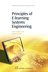 Principles of E-Learning Systems Engineering - 1st Edition - ISBN: 9781843342908, 9781780631196