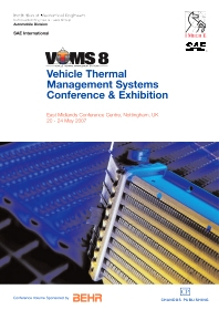 Vehicle thermal Management Systems (VTMS8), 1st Edition,ISBN9781843343486