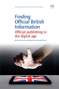 Finding official British Information - 1st Edition - ISBN: 9781843343929, 9781780632926