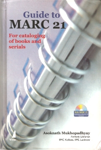Cover image for Guide to MARC 21 for Cataloging Books and Serials