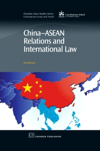 China-Asean Relations and International Law - 1st Edition - ISBN: 9781843344384, 9781780632339
