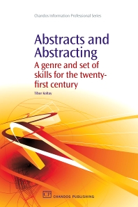 Abstracts and Abstracting - 1st Edition - ISBN: 9781843345176, 9781780630328