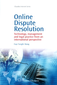 Online Dispute Resolution - 1st Edition - ISBN: 9781843345190