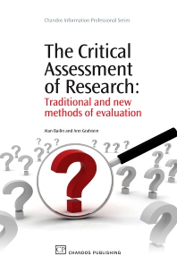 Cover image for The Critical Assessment of Research