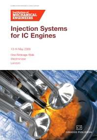 Cover image for Injection Systems for IC Engines Conference