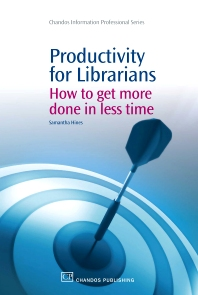 Cover image for Productivity for Librarians