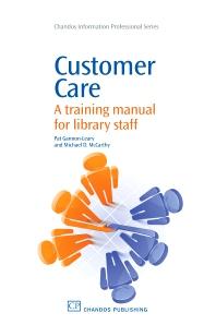 Customer Care - 1st Edition - ISBN: 9781843345701, 9781780630311