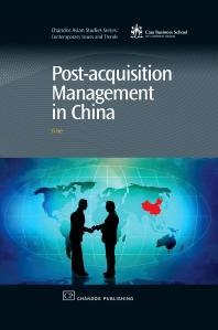 Post-Acquisition Management in China - 1st Edition - ISBN: 9781843345756, 9781780632230