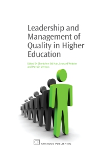 Leadership and Management of Quality in Higher Education - 1st Edition - ISBN: 9781843345763, 9781780630373