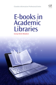 Cover image for E-books in Academic Libraries