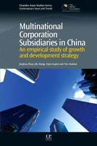 Cover image for Multinational Corporation Subsidiaries in China