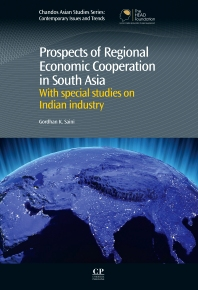 Cover image for Prospects of Regional Economic Cooperation in South Asia