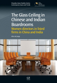 Cover image for The Glass Ceiling in Chinese and Indian Boardrooms