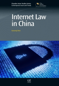 Cover image for Internet Law in China