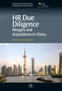 HR Due Diligence - 1st Edition - ISBN: 9781843346579, 9781780633282