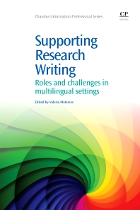 Supporting Research Writing, 1st Edition,Valerie Matarese,ISBN9781843346661