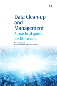 Data Clean-Up and Management - 1st Edition - ISBN: 9781843346722, 9781780633473