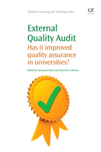 External Quality Audit, 1st Edition,Mahsood Shah,Chenicheri Sid Nair,ISBN9781843346760
