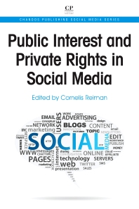 Public Interest and Private Rights in Social Media - 1st Edition - ISBN: 9781843346937, 9781780633534