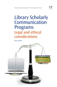 Library Scholarly Communication Programs - 1st Edition - ISBN: 9781843347170, 9781780633831