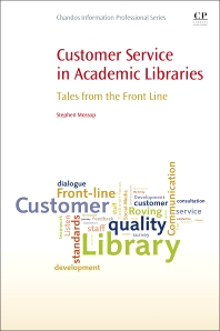 Cover image for Customer Service in Academic Libraries