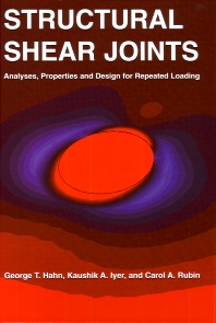 Cover image for Structural Shear Joints