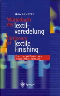 Cover image for Dictionary of Textile Finishing